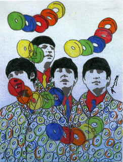 The Beatles moments series 8 - Life savers by Marco Mark
