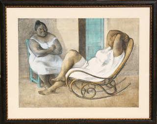 La Mecedora (The Rocking Chair) by Francisco Zuñiga