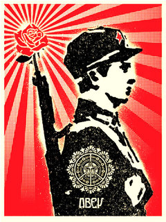 Rose Soldier by Shepard Fairey