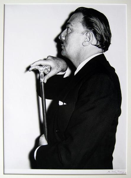 Salvador Dali au Ritz a Paris - 1966 by Andre Villers