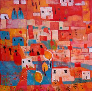 Mexican Village by Rana Jennifer Rodger