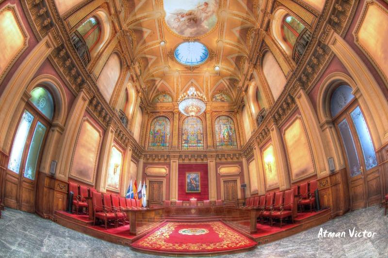 Salón de plenos Ayuntamiento Santa Cruz Tenerife by Jose Luis Mendez Fernandez