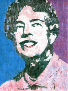 Eleanor Roosevelt,first lady of the United States by Marco Mark
