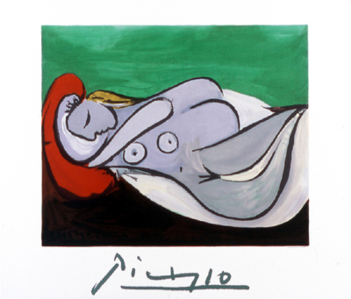 Picasso reclining celebrities galleries 14