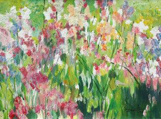 Beauties in the Flower Garden by U Lun Gywe