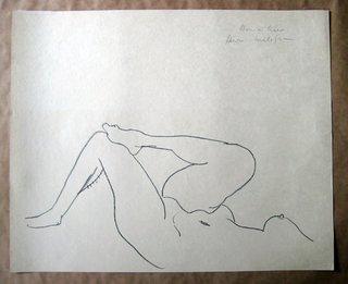 Etude des Jambes by Henri Matisse