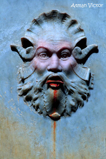 neptune's puzzlement by Atman Victor