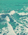 Turquoise Marine II by Eduardo Sanz