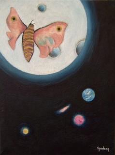 Lunar Moth by Scott Andrew Spencer