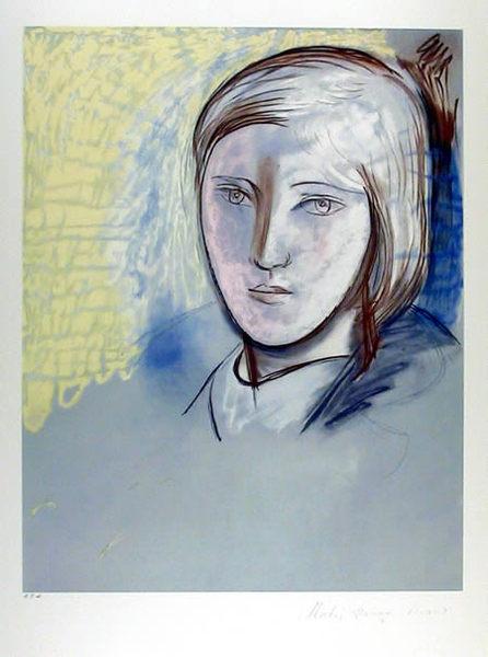 Portrait of Marie Thérèse Walter Original Art by Picasso Estate ...