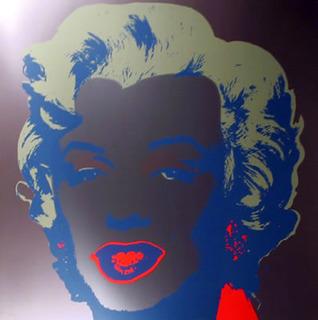 Marilyn V by Andy Warhol