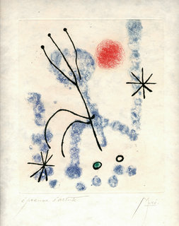 Feuilles Eparses by Joan Miró