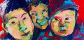 Tibetan kids by Daniel Sarciat