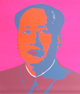 Mao 2 by Andy Warhol