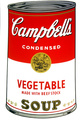 Campbell's Soup - Vegetable by Andy Warhol
