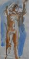 Nude Model by Anthony Eyton