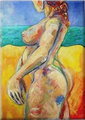 NUDE the beach by Raquel Sarangello