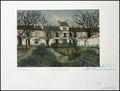 le jardin de montmagny by Maurice Utrillo