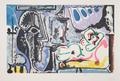 Le Peintre et Son Modèle by Picasso Estate Collection