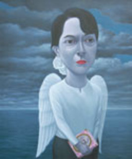 The Lady by Jitagarn Kaewtinkoy