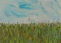 Spring field by Inga Erina