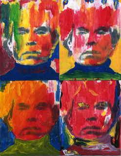 4 Seasons Andy Warhol Pop artist by Marco Mark