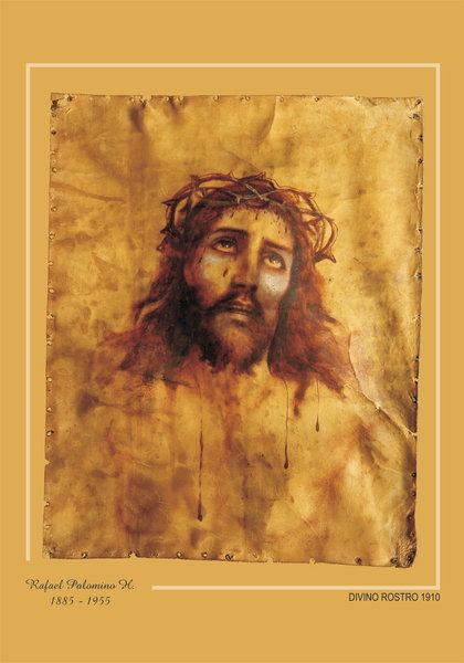 Divino Rostro 1910 Original Art By Rafael Palomino H Picassomio