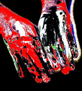 Series Of Hands. Part 30 by Oleg Frolov