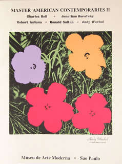 Master American Comtemporaries II - Museu de Arte de Moderna, Sao Paulo by Andy Warhol