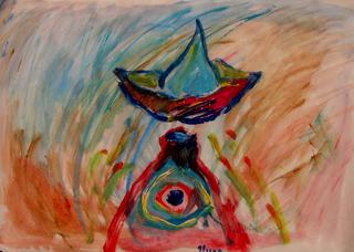 Progenitress of fishes by Inga Erina