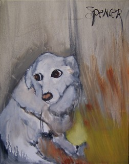 White Dog by Scott Andrew Spencer