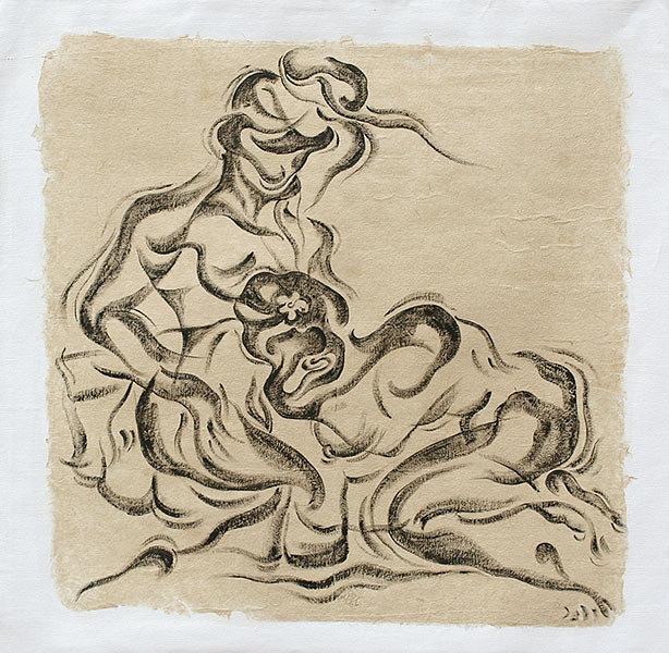 Eroticism in Black & White (9) by MPP Yei Myint