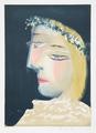 Femme à la Robe Blanche, Couronnée de Fleurs by Picasso Estate Collection