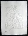 Meleagre tue la Sanglier de Calydon by Pablo Picasso