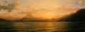 Sunset on Lake Atitilai by Pip Todd Warmoth