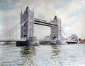 London bridge by Bienvenido Garcia Arozamena