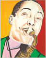 Johnny Hodges by Frederick Brown