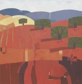 Paisaje revivido 67.Tórtola de Henares by Julián Recio