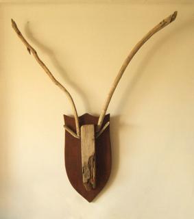 Hunting Trophy: Antelope II. by Pablo Daza