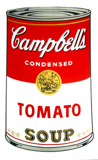 Campbell's Soup - Tomato by Andy Warhol