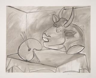 Nature Morte à la Palette et à la Tête by Picasso Estate Collection