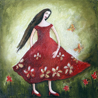 the warm summer of Rosita Red by Mariela Dimitrova MARA