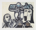 Couple et Enfant au Rameau d' Olivier by Picasso Estate Collection