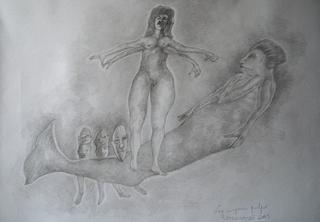 Women octopus by Ricardo Hirschfeldt