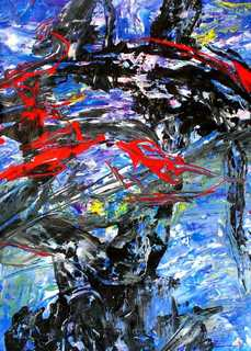 Abstract Painting OF-A86 by Oleg Frolov