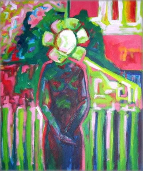 MARGARITTE homenagge Munch by Raquel Sara Sarangello