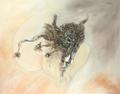 """Series: Symbiosis / Animal 15"" S / T by Carlos Rafael Uribazo Garrido"