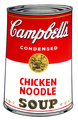 Campbell's Soup - Chicken Noodle by Andy Warhol