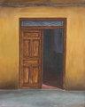 Autorretrato en Puerta desde fuera by Javier Dugnol