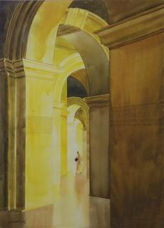 Golden Light by Min Wae Aung